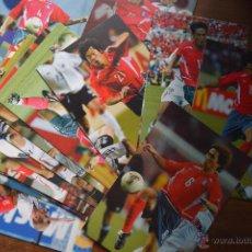 Coleccionismo deportivo: LOTE DE 24 POSTALES DE FUTBOL DE COREA. Lote 58905240