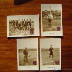 Coleccionismo deportivo: F.C. BARCELONA 1922-23 - COLECCION 12 POSTALES FOTOGRAFICAS FUTBOL - ALCANTARA , SAMITIER , ETC. Lote 53161016