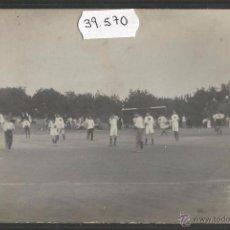 Coleccionismo deportivo: PARTIDO DE FUTBOL - FOTOGRAFICA - (39570). Lote 53436996