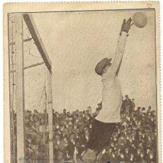 Coleccionismo deportivo: (F-1320)POSTAL DE RICARDO ZAMORA,COLECCION LOS ASES DEL FUTBOL,UNA PARADA ESTILIZADA. Lote 53704266