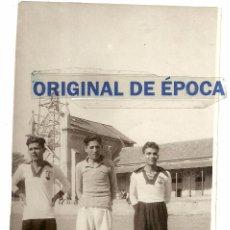 Coleccionismo deportivo: (F-1243)POSTAL FOTOGRAFICA JUGADORES DE FOOT-BALL. Lote 53748381