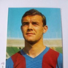 Coleccionismo deportivo: F.C BARCELONA ZALDUA TEMPORADA 68/69 SIN CIRCULAR. Lote 53805080