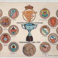 Colecionismo desportivo: EQUIPOS PRIMERA DIVISION. TEMPORADA 1966-1967. Lote 53862748