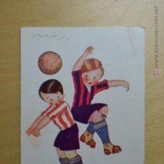 Coleccionismo deportivo: EDICIONES VICTORIA Nº 1078 - ¡FAUT! - EQUIPOS ATHLETIC DE BILBAO Y FC BARCELONA. Lote 53896342