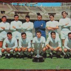 Coleccionismo deportivo: POSTAL PLANTILLA DEL REAL MADRID 1966 / 67, , SIN CIRCULAR. Lote 54499442