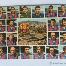 Coleccionismo deportivo: POSTAL FC BARCELONA TEMPORADA 1971-1972 71-72 REXACH, SADURNI, ASENSI, TORRES, RIFE,FUSTE.. Lote 54656597