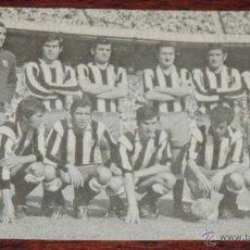 Collezionismo sportivo: FOTO POSTAL DE ATLETICO MADRID, N. 324, FUTBOL, CON LUIS ARAGONES, ED. BERGAS, AÑO 1972, CIRCULADA.. Lote 54817827