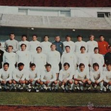 Coleccionismo deportivo: ANTIGUA POSTAL DEL REAL MADRID CLUB DE FUTBOL, TEMPORADA 71-72, N. Lote 54818150