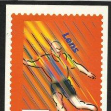 Coleccionismo deportivo: POSTAL CONMEMORATIVA DE LA COPA MUNDIAL DE FUTBOL FRANCIA 98- SEDES- LENS - FIFA. Lote 54874534