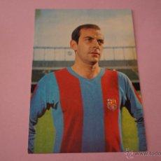 Coleccionismo deportivo: POSTAL DE FÚTBOL:PEREDA DEL F.C.BARCELONA,SIN CIRCULAR,AÑOS 60. Lote 54993421