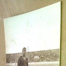 Coleccionismo deportivo: POSTAL ANTIGUA FÚTBOL. SANCHO. JUGADOR BARCELONA. AÑOS 20. . Lote 55232704