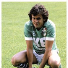 Coleccionismo deportivo: MICHEL PLATINI - LEGENDS OF FOOTBALL SERIES 2010 - SIZE 9X14 CM. (01). Lote 210617532