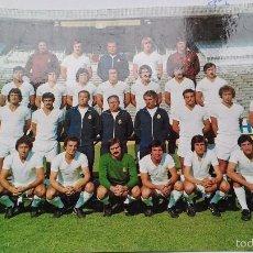 Coleccionismo deportivo: POSTAL DE REAL MADRID PLANTILLA 77 78. Lote 144819858