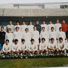 Coleccionismo deportivo: POSTAL DE REAL MADRID PLANTILLA 71 72. Lote 55684445