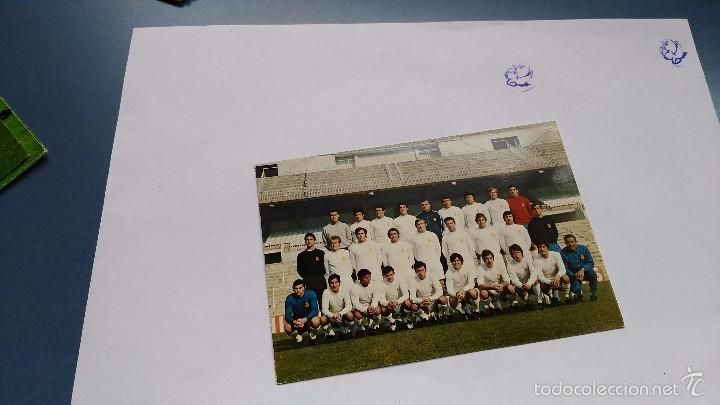 POSTAL DE REAL MADRID PLANTILLA (Coleccionismo Deportivo - Postales de Deportes - Fútbol)