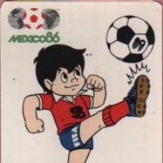 Coleccionismo deportivo: POSTAL MEXICO 1986 - TROFEO COPA DEL MUNDO FIFA - SPORT - BILLY . Lote 55734092