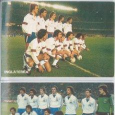 Coleccionismo deportivo: LOTE DE 18 POSTALES SELECCIONES DE FUTBOL EDITADAS POR DON BALÓN ESPAÑA MUNDIAL 1982. Lote 55821486