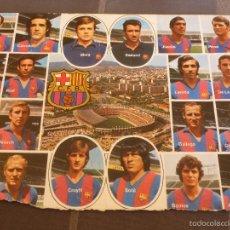 Coleccionismo deportivo: POSTAL F.C.BARCELONA(15 X 21CM) TEMP.73-74 BARÇA CAMPEÓN LIGA.JOHAN CRUYFF.. Lote 55931851