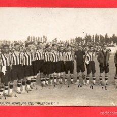 Coleccionismo deportivo: VALENCIA F C. NOMBRE DE LOS JUGADORES EN REVERSO. Lote 56021836