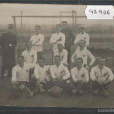 Coleccionismo deportivo: VIC - VICH POSTAL FOTOGRAFICA EQUIPO U.D. VICH- U.E. VIC - AÑO 1918 - (42.406) . Lote 56125137
