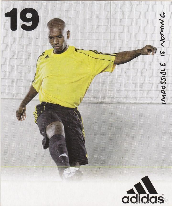 Coleccionismo deportivo: POSTAL SENNA.ADIDAS. - Foto 2 - 56180971