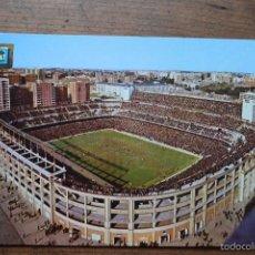 Coleccionismo deportivo: POSTAL DEL SANTIAGP BERNABEU, DOMINGUEZ, ESCUDO DE ORO, 1973. Lote 56249134