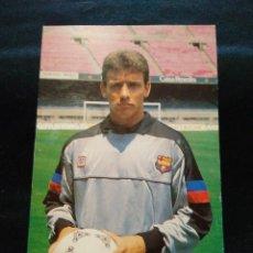 Coleccionismo deportivo: POSTAL UNZUE JUGADOR DEL FUTBOL CLUB FC BARCELONA F.C BARÇA CF . Lote 56315715