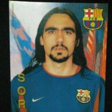 Coleccionismo deportivo: POSTAL FUTBOL CLUB FC BARCELONA F.C BARÇA CF SORIN. Lote 56326754