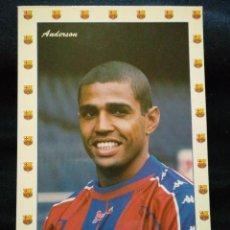 Coleccionismo deportivo: POSTAL AÑOS 90 FUTBOL CLUB FC BARCELONA F.C BARÇA CF JUGADOR ANDERSON. Lote 56391109