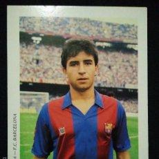 Coleccionismo deportivo: POSTAL AÑOS 90 FUTBOL CLUB FC BARCELONA F.C BARÇA CF JUGADOR MILLA. Lote 56391424