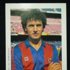 Coleccionismo deportivo: POSTAL AÑOS 90 FUTBOL CLUB FC BARCELONA F.C BARÇA CF JUGADOR SERNA. Lote 56391549