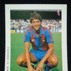 Coleccionismo deportivo: POSTAL AÑOS 90 FUTBOL CLUB FC BARCELONA F.C BARÇA CF JUGADOR LINEKER. Lote 56391581