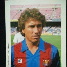 Coleccionismo deportivo: POSTAL AÑOS 90 FUTBOL CLUB FC BARCELONA F.C BARÇA CF JUGADOR ESTEBAN. Lote 56391666