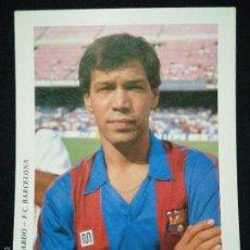 Coleccionismo deportivo: POSTAL AÑOS 90 FUTBOL CLUB FC BARCELONA F.C BARÇA CF JUGADOR GERARDO. Lote 56391627