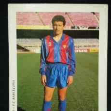 Coleccionismo deportivo: POSTAL AÑOS 90 FUTBOL CLUB FC BARCELONA F.C BARÇA CF JUGADOR EUSEBIO. Lote 56391949