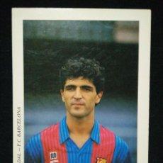 Coleccionismo deportivo: POSTAL AÑOS 90 FUTBOL CLUB FC BARCELONA F.C BARÇA CF JUGADOR NADAL. Lote 56392010
