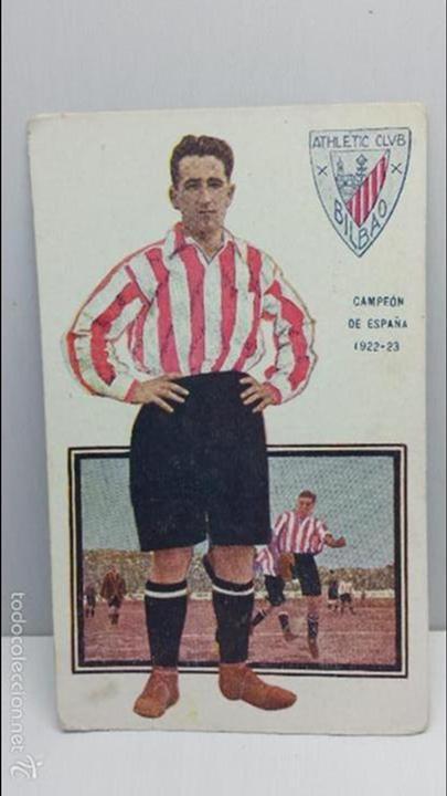 POSTAL FUTBOL JUGADORES DE FOOT-BALL CHOCOLATES AMATLLER-AGUIRREZABALA SERIE F Nº 11 (Coleccionismo Deportivo - Postales de Deportes - Fútbol)
