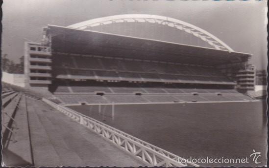 POSTAL CAMPO DE FUTBOL ESTADIO SAN MAMES AT.BILBAO (Coleccionismo Deportivo - Postales de Deportes - Fútbol)