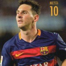 Coleccionismo deportivo: POSTAL MESSI CON EL BARCELONA - GOLY. Lote 56629862