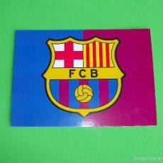 Coleccionismo deportivo: POSTAL ESCUDO FUTBOL CLUB BARCELONA 14,7 X 10,5. Lote 56637354