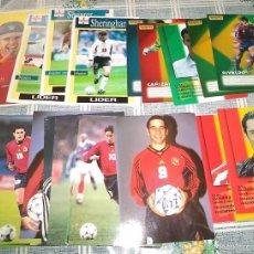 Coleccionismo deportivo: 25 POSTALES DE JUGADORES DE FUTBOL LAS DE LAS IMÁGENES . Lote 61855755