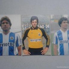 Coleccionismo deportivo: LOTE DE 3 POSTALES DE FUTBOLISTAS DEL OPORTO.. Lote 56880432