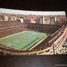 Coleccionismo deportivo: POSTAL - MADRID - ESTADIO BERNABEU / Nº 134 / GARCIA GARRABELLA / 1965. Lote 56913076