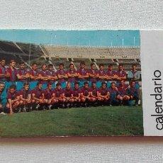 Coleccionismo deportivo: C.F. BARCELONA 1969 CALENDARIO POSTALES. Lote 57291408