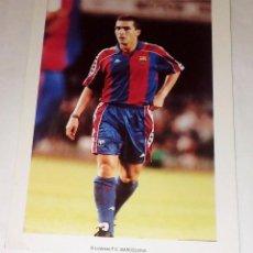Coleccionismo deportivo: POSTAL DE GUILLERMO AMOR. F.C. BARCELONA. SIN USAR.. Lote 57325373