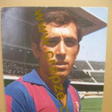 Coleccionismo deportivo: JUAN MANUEL ASENSI - C.F. BARCELONA F.C. - TARJETA PUBLICIDAD WILLIAMS. Lote 57432080