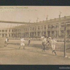 Coleccionismo deportivo: EXPOSICIÓN REGIONAL VALENCIANA.CONCURSO D JUEGOS ATLÉTICOS.PARTIDO D FOOT-BALL.F.C.VALENCIA.AÑO 1909. Lote 57475503