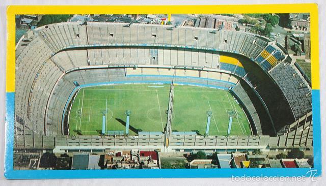 POSTAL ESTADIO C.A. BOCA JUNIORS LA BOMBONERA 10 X 18 CM SIN ESCRIBIR NI CURCULAR ¿AÑOS 80/90? (Coleccionismo Deportivo - Postales de Deportes - Fútbol)