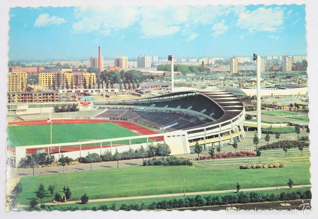 POSTAL STADION MALMÖ SUECIA 10 X 14 CM SIN ESCRIBIR NI CURCULAR ¿AÑOS 80/90? CAMPO DE FUTBOL (Coleccionismo Deportivo - Postales de Deportes - Fútbol)