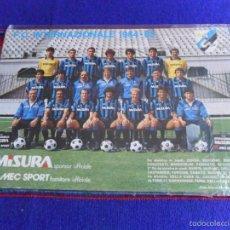 Coleccionismo deportivo: POSTAL FC INTERNAZIONALE INTER DE MILÁN 1984 1985 84 85. MISURA. 24X17 CMS. RARA. BE.. Lote 57528829
